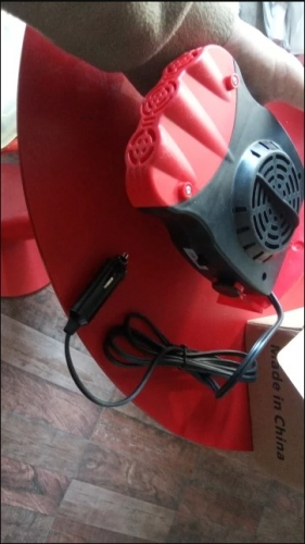 New Portable Car Heater & Windshield Defroster photo review